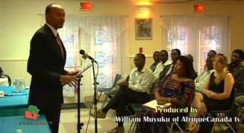 Peter Kenneth: Kenya presidential candidate in Montreal