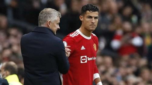 MU : Cristiano Ronaldo recadré par Solksjaer après la défaite face à Leicester