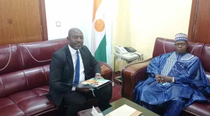 Visite de courtoisie et de travail du Directeur Général d'AFRISTAT au Ministère du Plan de la République du Niger
