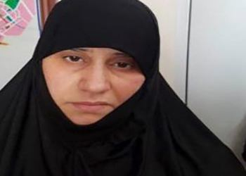 This handout undated picture released by the press service of the Turkish Government shows Asma Fawzi Muhammad Al-Qubaysi, believed to be the first wife of slain Islamic State leader Abu Bakr al-Baghdadi, captured in the Turkish border city of Hatay by Turkish security officials. – Turkey's President also confirmed on November 6, 2019 that Turkey had also captured Baghdadi's sister and brother-in-law, as announced by a Turkish official the day before. (Photo by HANDOUT / TURKISH GOVERNMENT / AFP) /