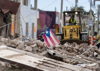 Puerto Rico rattled by another strong quake