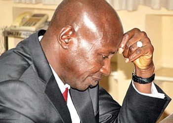 Trying times for financial crimes fighter, Ibrahim Magu. PHOTO: THE GUARDIAN'S FILE