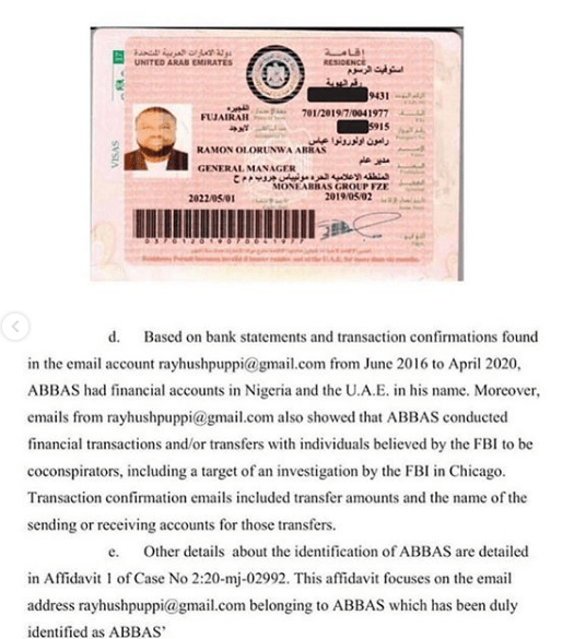 New Incriminating Evidence Submitted Against Alleged Fraudster, Hushpuppi