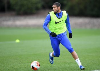 Ruben Loftus-Cheek during a training session for Chelsea (Photo by Darren Walsh/Chelsea FC via Getty Images)