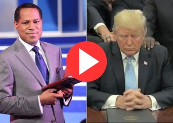 """VIDEO: """"They Hate Trump Because He Supports Christians""""- Pastor Chris Oyakhilome"""