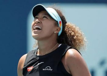Naomi Osaka crashed out in the last 32 of the Madrid Open Michael Reaves GETTY IMAGES NORTH AMERICA/AFP/File
