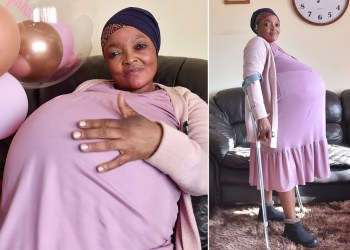 It's not true, South African woman did not deliver 10 babies
