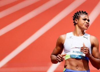 [FILES] Blessing Okagbare. Photo: AFP