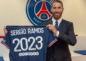 Paris Saint-Germain has confirmed the signing of Real ex-defender Sergio Ramos on a two year deal.