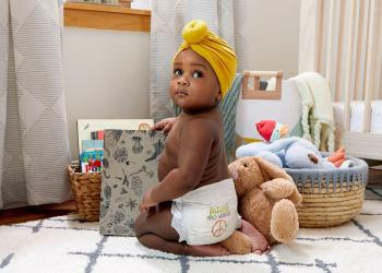 Baby in diaper – Image – Seventh Generation