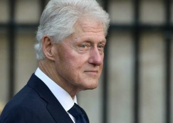Former US president Bill Clinton, 75, was released from a hospital outside Los Angeles after spending five nights there being treated for an infection . Photo/Martin BUREAU AFP/File