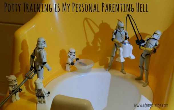 yellow potty training droids