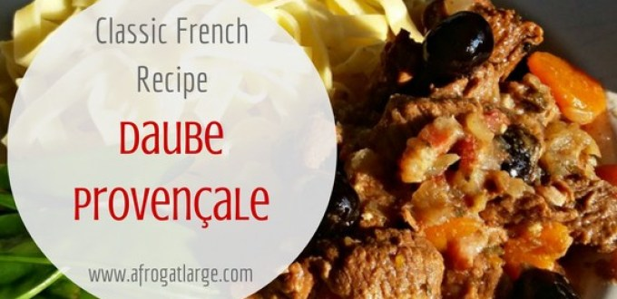 French recipe daube provencale