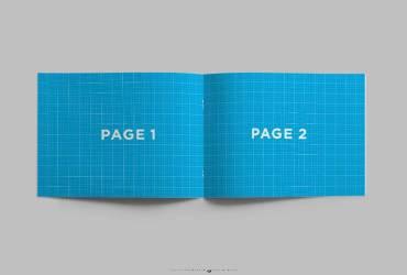 Horizontal Brochure Mockup