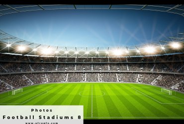 Football Stadiums 8 Stock Photo