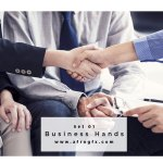 Business Hands Set 1 Stock Photo