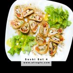 Appetizing Sushi Set 4