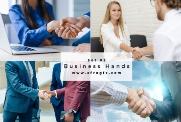 Business Hands Set 2 Stock Photo