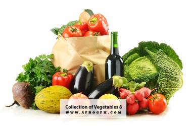 Collection of Vegetables 8