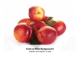 Fruits on White Background 8 #Apple