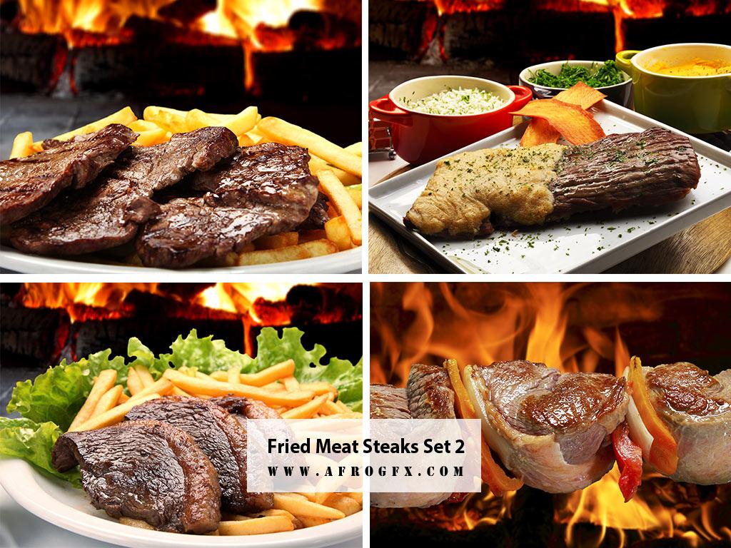 Fried Meat Steaks 2