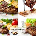 Fried Meat Steaks 3