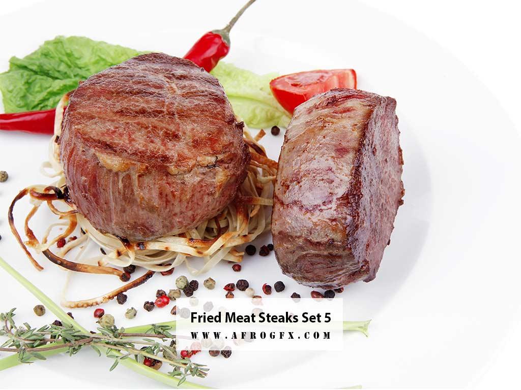 Fried Meat Steaks 5