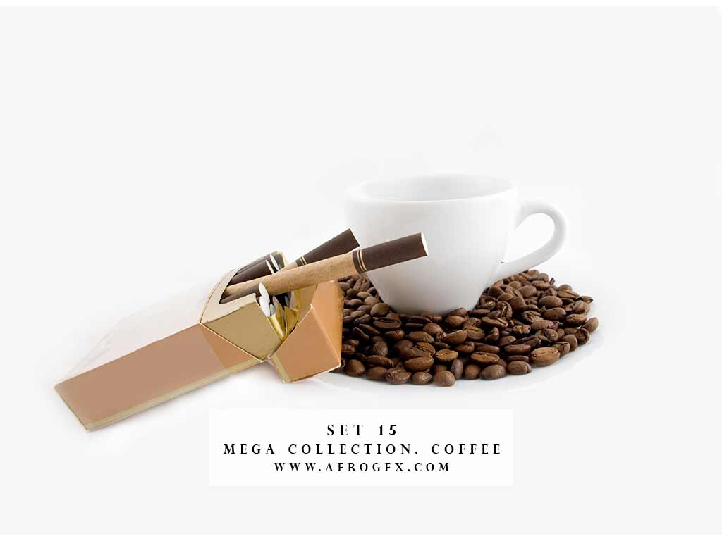 Mega Collection. Coffee #15 - Stock Photo