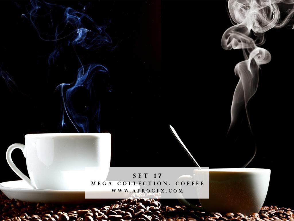 Mega Collection. Coffee #17 - Stock Photo
