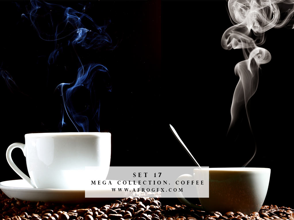Mega Collection. Coffee #17 - Stock Photo