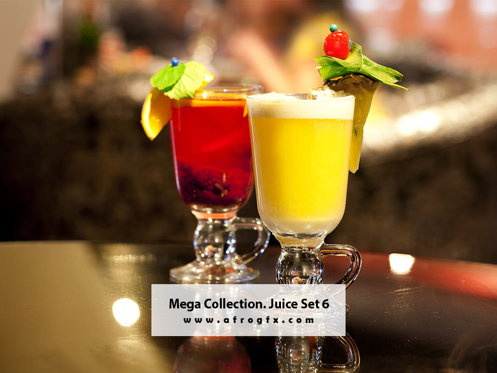 Mega Collection. Juice #6 Stock Photo