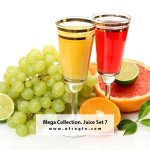 Mega Collection. Juice #7 Stock Photo