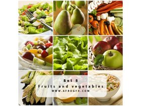 Fruits and vegetables 5