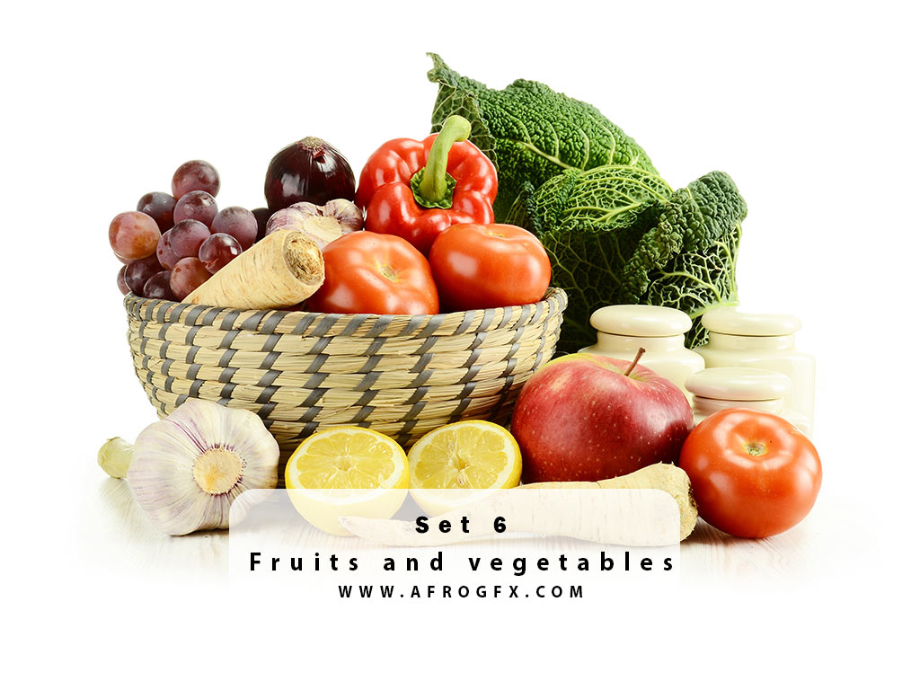 Fruits and vegetables 6