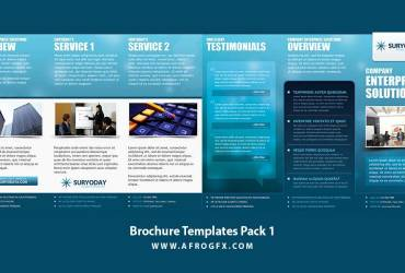 Brochure Templates Pack 1