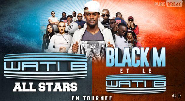 Black M et le Wati B en tournée !