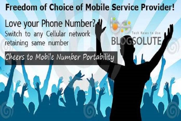 mobile number portabilty