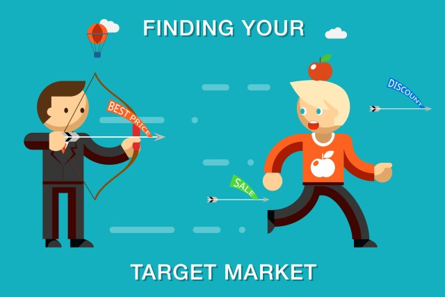 Find a target market to build a strong digital strategy