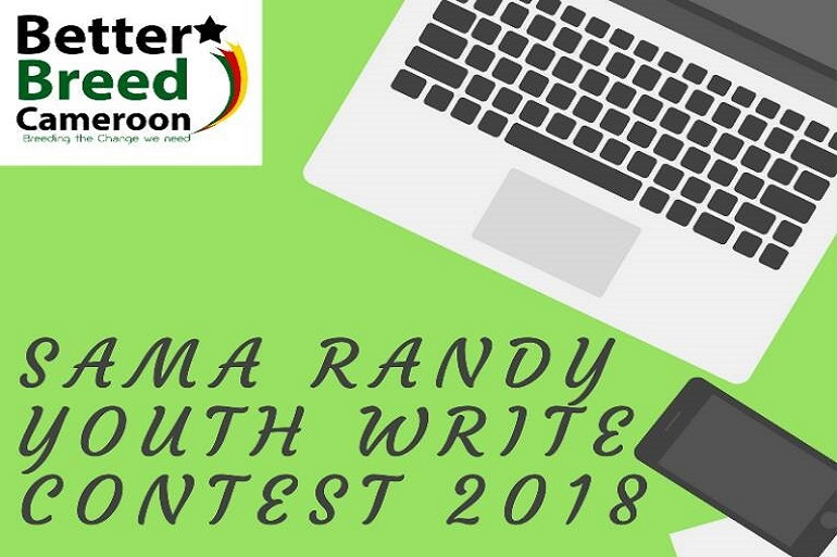Better Breed Cameroon Launches 2018 Sama Randy Youth Write Contest