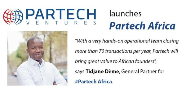 Media Tweets Partech Ventures launches Partech Africa