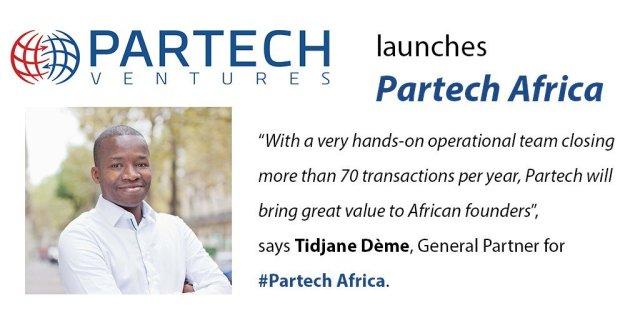 Media Tweets Partech Ventures launches Partech Africa