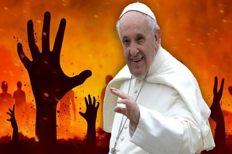The Hustler's Digest - Pope Francis Easter Message About Hell