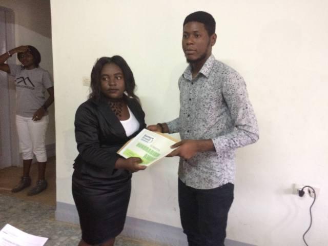Winners of Sama Randy Youth Write Contest