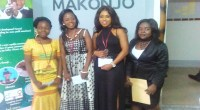 Winners of the Sama Randy Youth Write Contest Speak to Writers