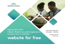 Makonjo Media Offers To Build Free Websites For Non-Profits