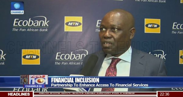 Ecobank's Group CEO, Ade Ayemi speaks about Mobile Money partnership.