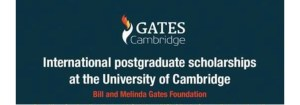 Gates Cambridge International Postgraduate Scholarship