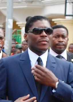 Teodoro Nguema Obiang Mangue, más conocido en su país por el nombre de Teodorín