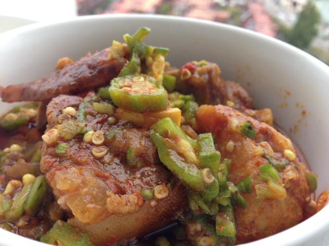 nigerian okro soup