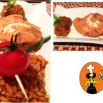 Red Shade of Jollof Rice, Moin Moin and Beef Valentine Cooking